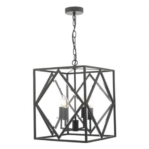 Jepsen 4lt Lantern Black & Bevelled Edge Glass (double insulated) BXJEP0422-17